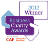 Winner at the 2012 Business Charity Awards